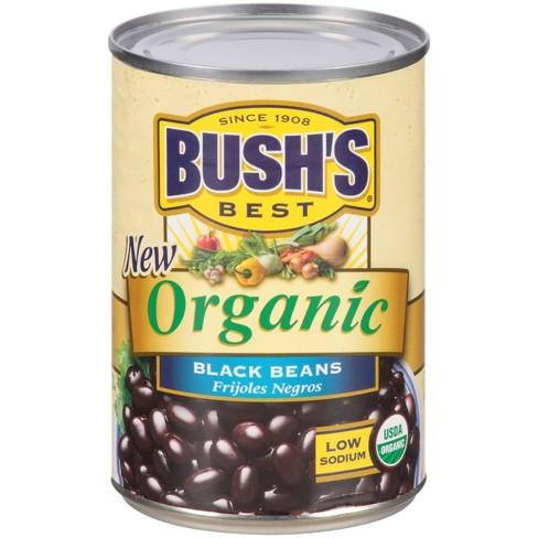 Bush's Organic Black Beans - 16oz - image 1 of 4
