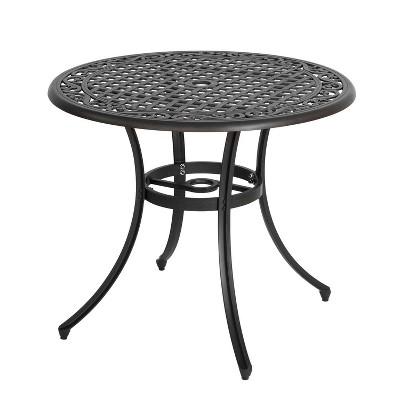 Aluminum Round Bistro Table - Nuu Garden