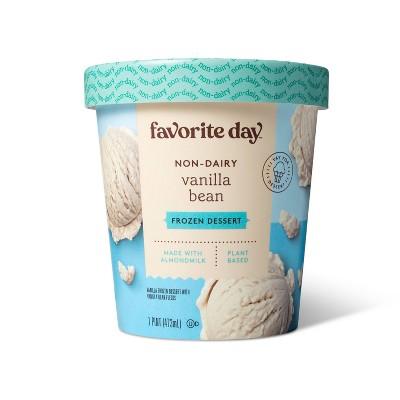 Non-Dairy Plant Based Vanilla Almond Frozen Dessert - 16oz - Favorite Day™