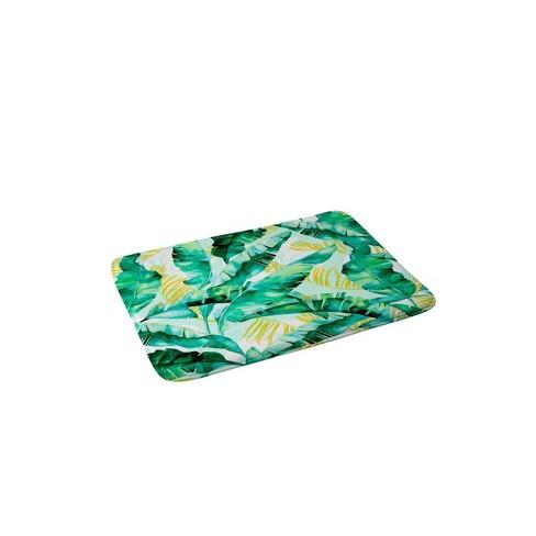 Marta Barragan Camarasa Banana Leaf Bath Mat Green/Leaf - Deny Designs - image 1 of 2