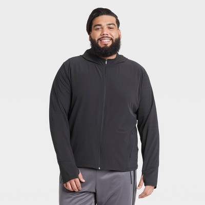 Men's Knit to Woven Full Zip Sweatshirt - All in Motion™