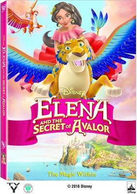 Elena and the Secret of Avalor (DVD)