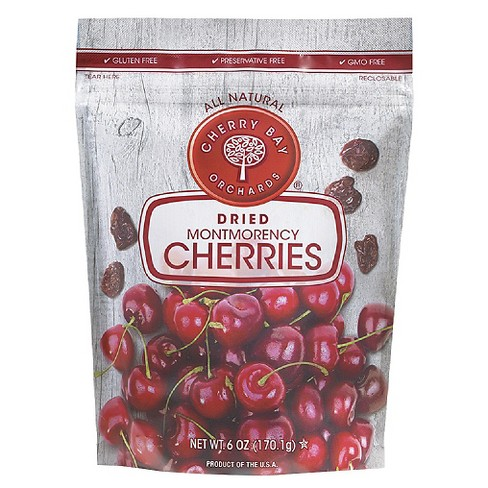 Cherry Bay Orchards Dried Montmorency Cherries - 6oz - image 1 of 1