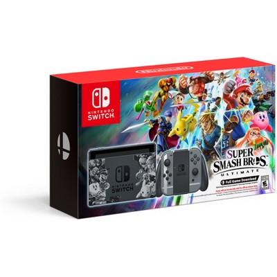Nintendo Switch Super Smash Bros. Ultimate Edition Console