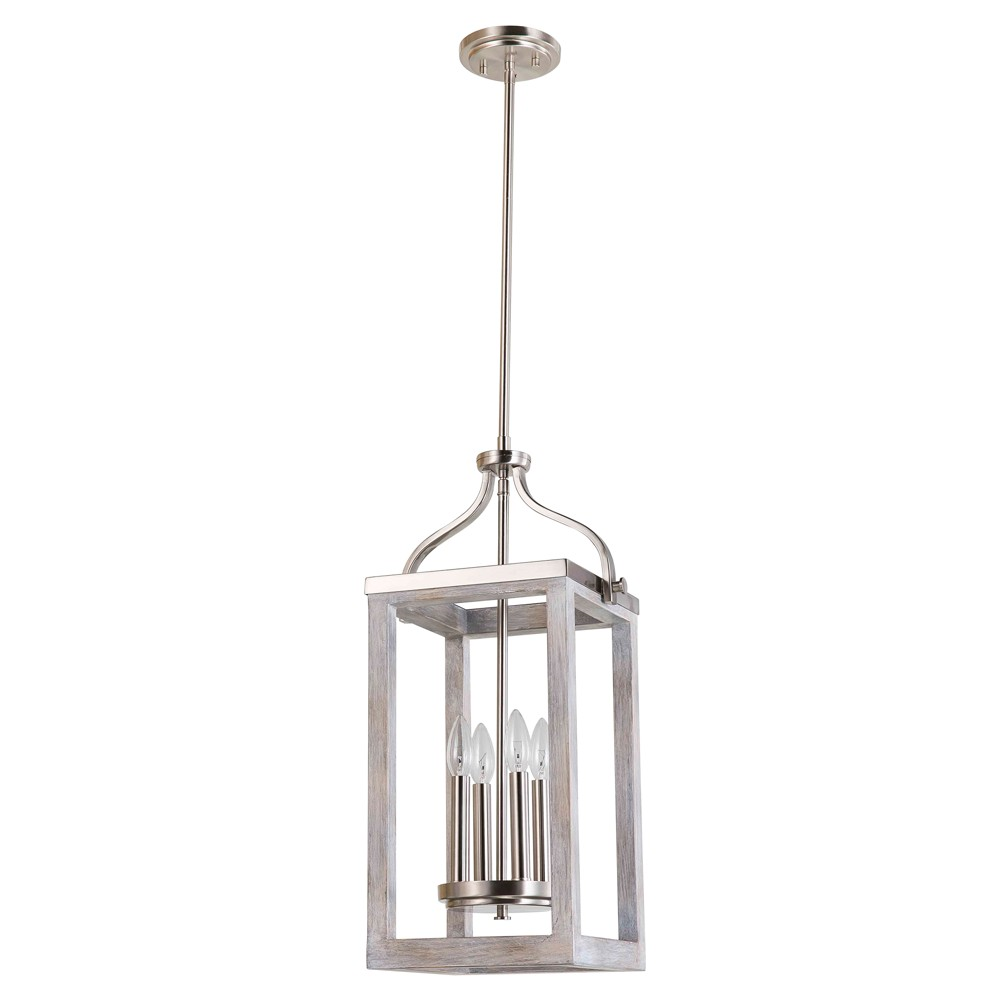 Image of Montrose 4 Light Pendant Silver - EGLO