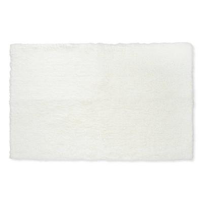 38 x24  Tufted Spa Bath Rug Cream - Fieldcrest®