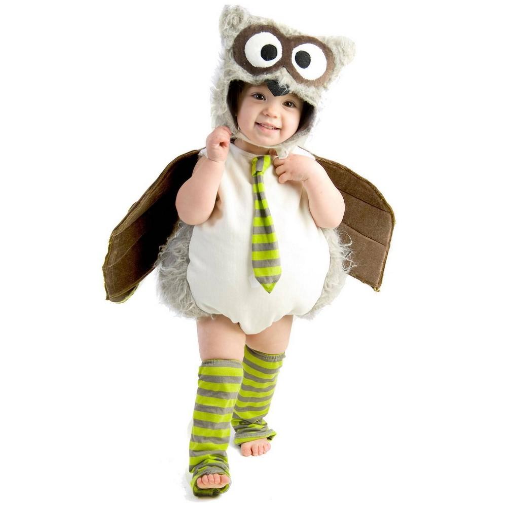 Image of Halloween Boys' Edward the Owl Costume XS, Boy's, MultiColored