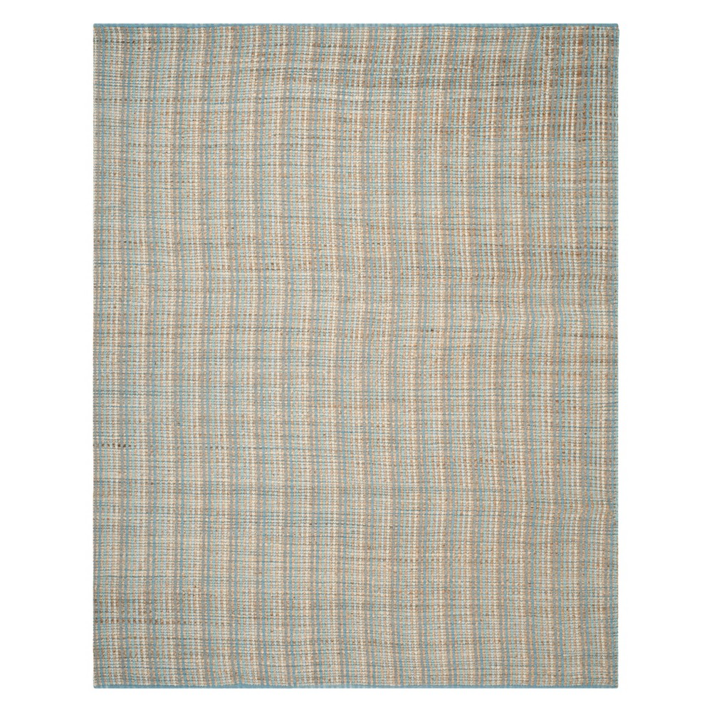 Stripe Area Rug Gray