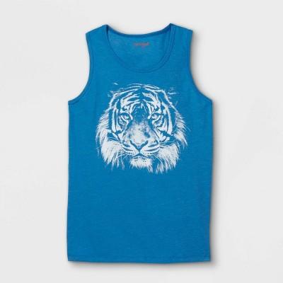 Boys' Tiger Tank Top- Cat & Jack™ Blue