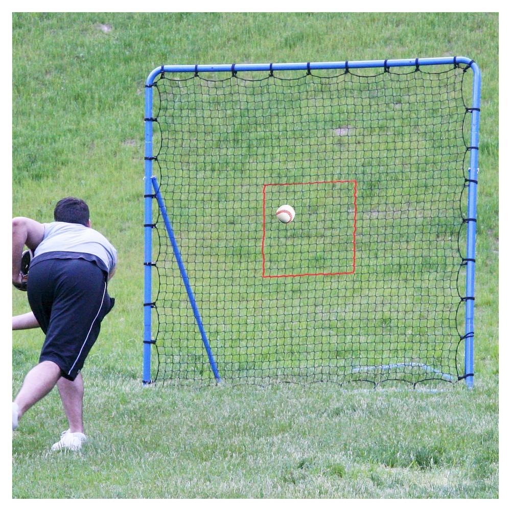 EZ Goal Pitching Throwback - 6'x6', Blue