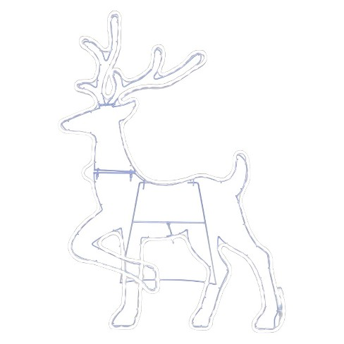 3 ft. Lit Wire Deer - image 1 of 1
