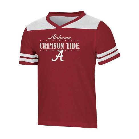NCAA Girl's Heather Fashion T-Shirt Alabama Crimson Tide - image 1 of 2