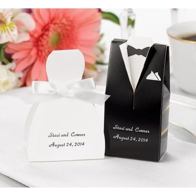 24ct Wedding Dress Favor Boxes