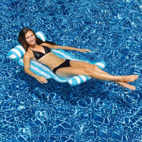 NEW Swimline 9044 Premium Swimming Pool Floating Water Hammock Lounge Chair