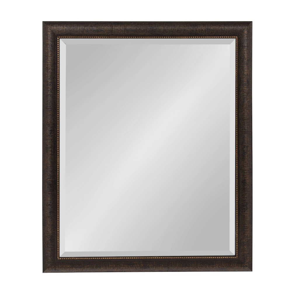 "Image of ""26""""x32"""" Aldridge Framed Wall Mirror Bronze - Kate and Laurel, Brown"""