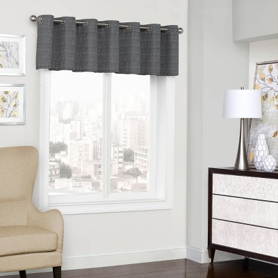 """18""""x52"""" Trevi Thermalined Window Valance - Eclipse"""