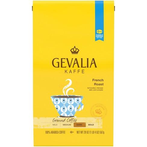 Gevalia French Roast Ground Dark Roast Coffee - 20oz - image 1 of 3