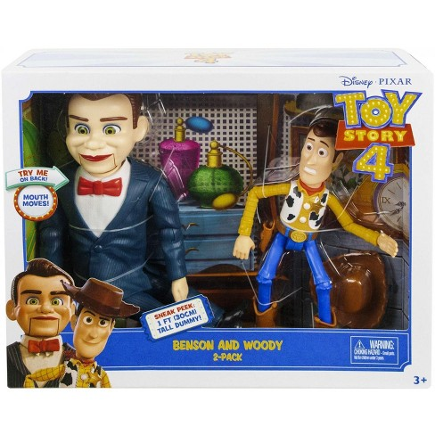 Toy Story 4 Benson and Woody Action Figure 2-Pack - image 1 of 4