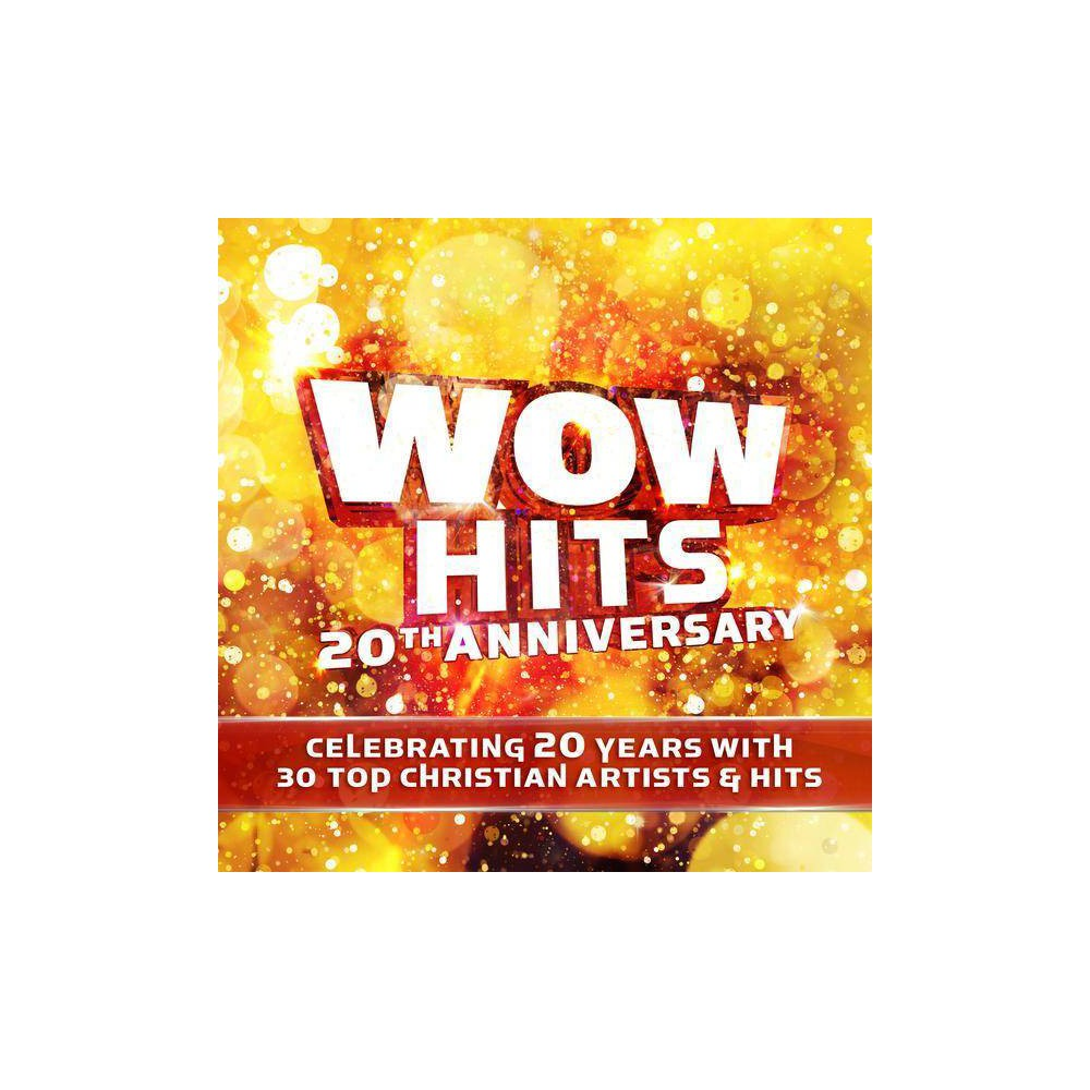 Various Artists Wow Hits 20th Anniversary Cd
