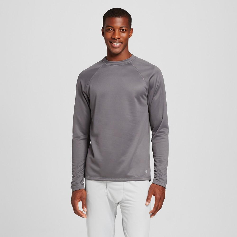 Dickies Men's Heavyweight Fleece Thermal Shirt - Charcoal (Grey) M
