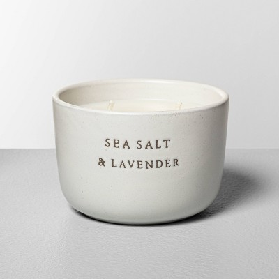 Ceramic Candle Sea Salt & Lavender - Hearth & Hand™ with Magnolia