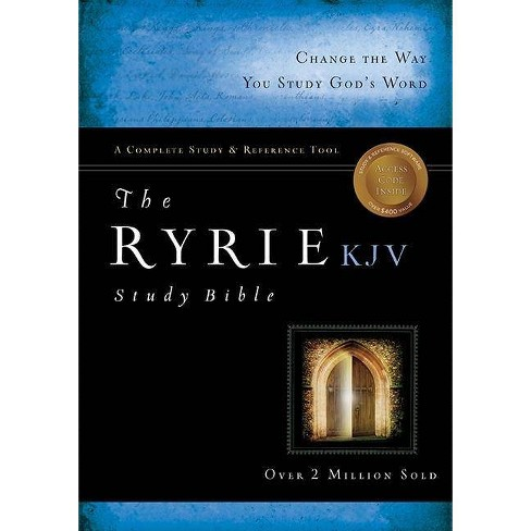 Ryrie Study Bible-KJV - (Ryrie Study Bibles 2012) by  Charles C Ryrie (Mixed media product) - image 1 of 1