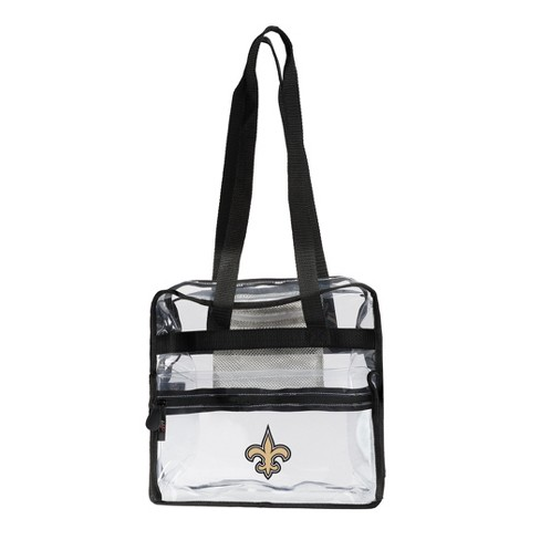 NFL New Orleans Saints The Northwest Co. Clear Zone Stadium Tote - image 1 of 1