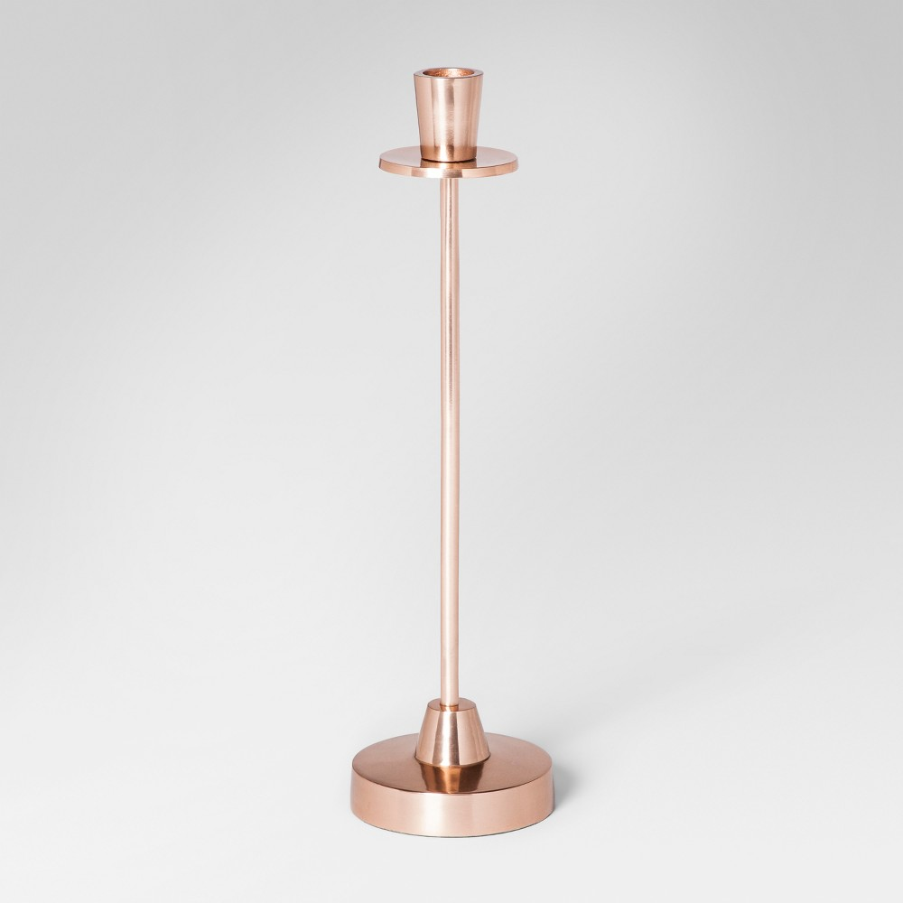 Taper Candle Holder Large - Copper (Brown) - Project 62
