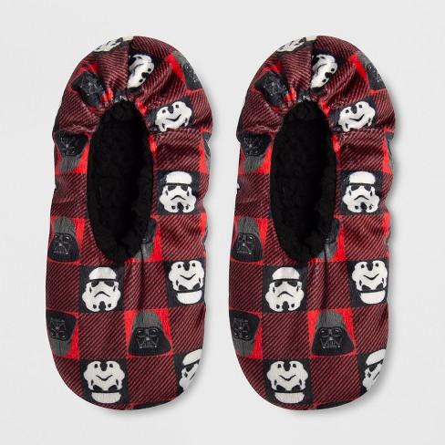 e091f2467c Boys  Star Wars Slipper Socks - Red   Target