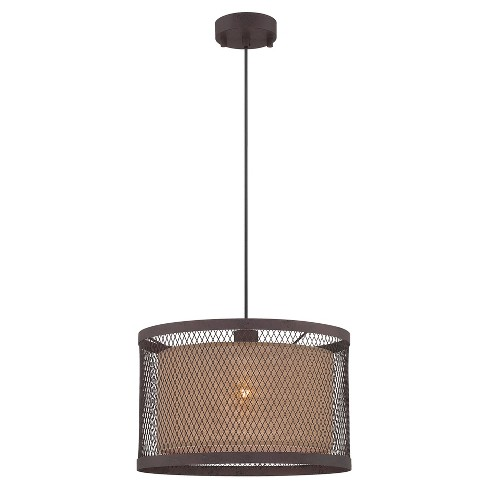 Ceiling Lights Macyn Pendant - Aged Rust - Lite Source - image 1 of 2