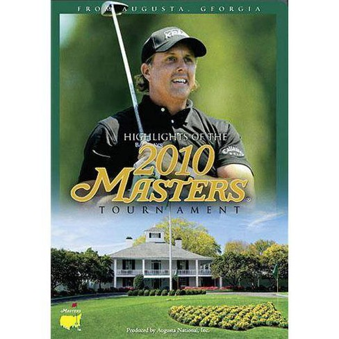 Highlights of the 2010 Masters Tournament (DVD) - image 1 of 1