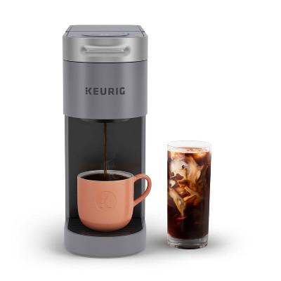 Keurig K-Slim + ICED Single-Serve Coffee Maker Gray
