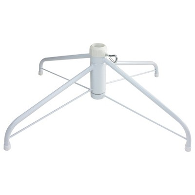 Northlight White Metal Christmas Tree Stand for 6.5'-7.5' Artificial Trees