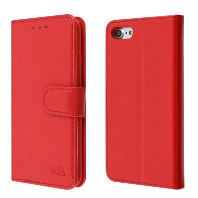 MyBat MyJacket Element Series Stand Book-Style Leather Wallet Pouch Case compatible with Apple iPhone