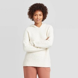 Women's Casual Fit V-Neck Hoodie Pullover sweater - A New Day™