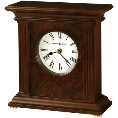Howard Miller 635171 Howard Miller Andover Mantel Clock 635-171 Cherry Bordeaux