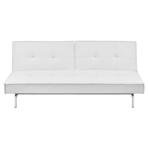 Premium Belle Convertible Futon - White - Dorel Home Products - image 1 of 8