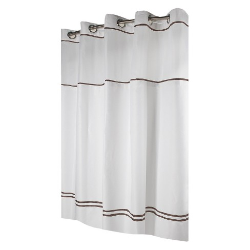 Monterey Shower Curtain with PEVA Liner - Hookless - image 1 of 5