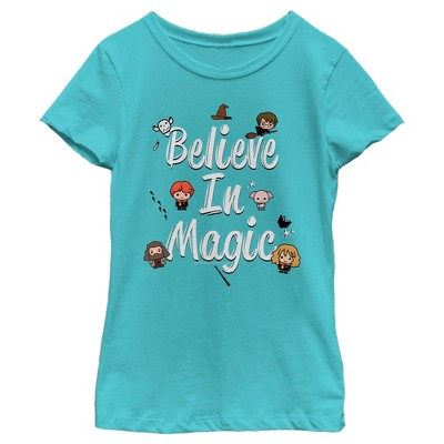 Girl's Harry Potter Believe In Magic T-Shirt