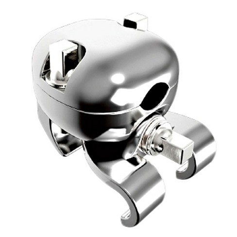 Gibraltar R-Class Universal Hoop Clamp Chrome - image 1 of 1