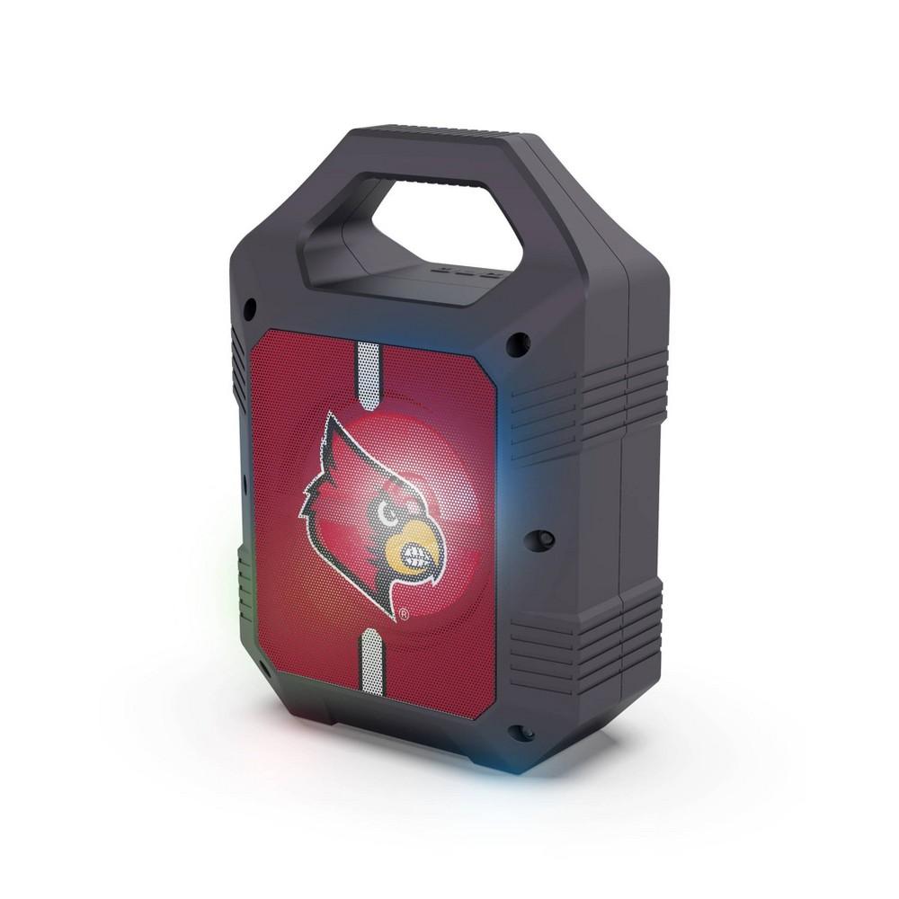 Ncaa Louisville Cardinals Bluetooth Speaker With Led Lights