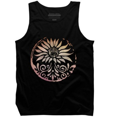 Lotus Mens Graphic Tank Top - Design By Humans