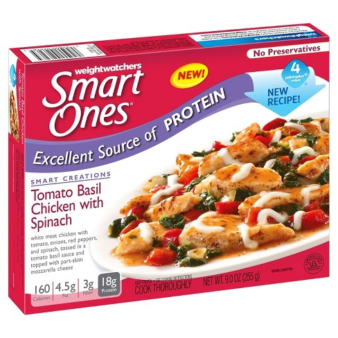 Smart Ones® Tomato Basil Frozen Chicken With Spanish - 9oz - image 1 of 1