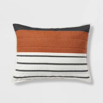 Standard Woven Yarn Dye Stripe Sham Cream - Project 62™ + Nate Berkus™