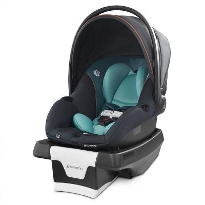 Evenflo Gold SecureMax Smart Infant Car Seat with SafeZone Load Leg - Sapphire