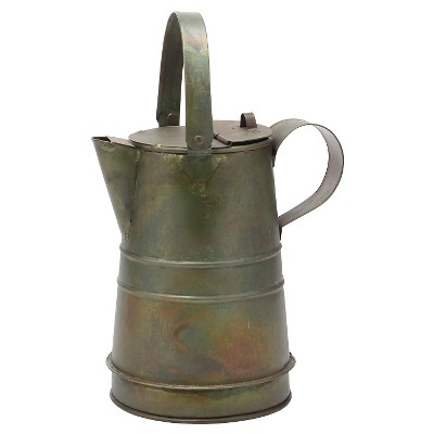 Stonebriar Rustic Farmhouse Metal Pitcher