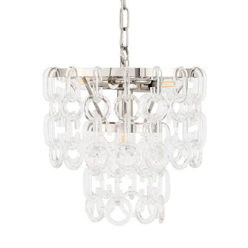 """Elegant Lighting 1713D12 Debutante 3 Light 12"""" Wide Pendant - image 1 of 1"""