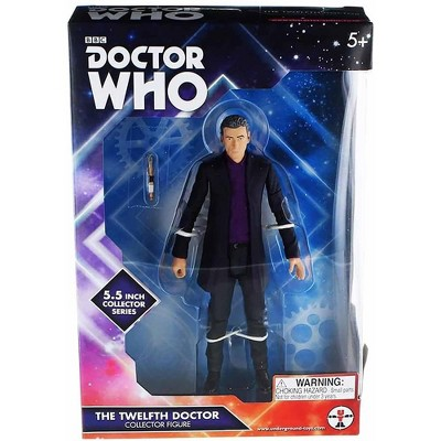 "Seven20 Doctor Who 5.5"" Action Figure: 12th Doctor (Purple Shirt)"