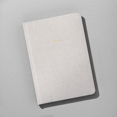 Lined Fabric Journal - Grey - Hearth & Hand™ with Magnolia - image 1 of 1