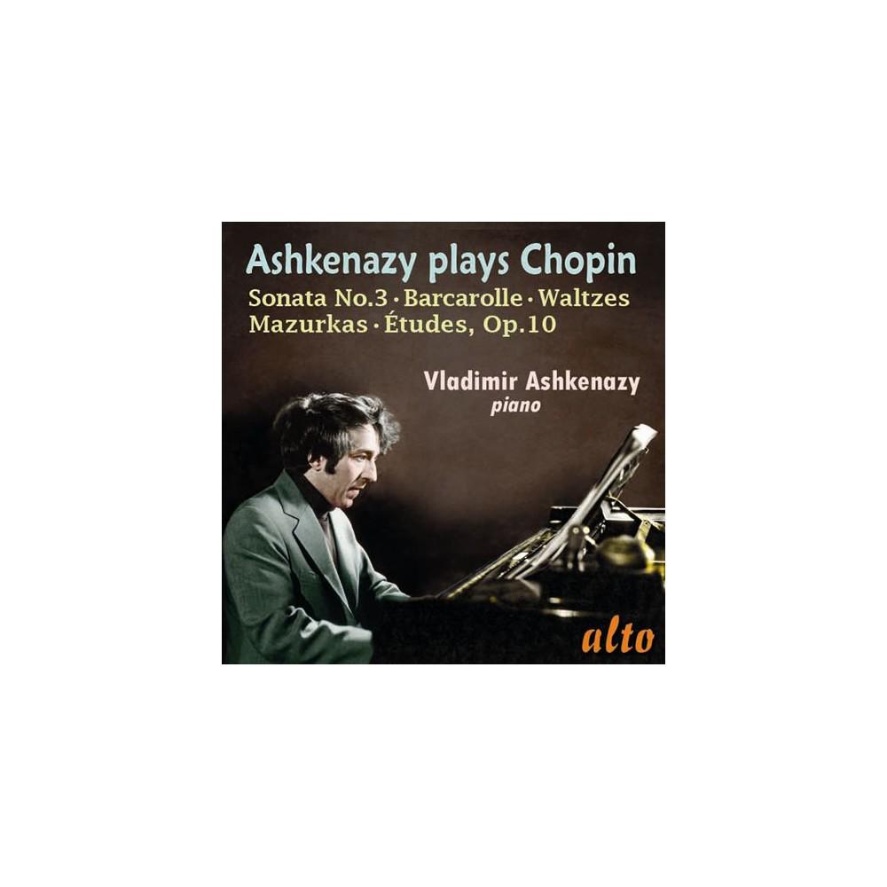 Vladimir Ashkenazy - Chopin:Etudes Op 10/Son No 3/Waltzes (CD)